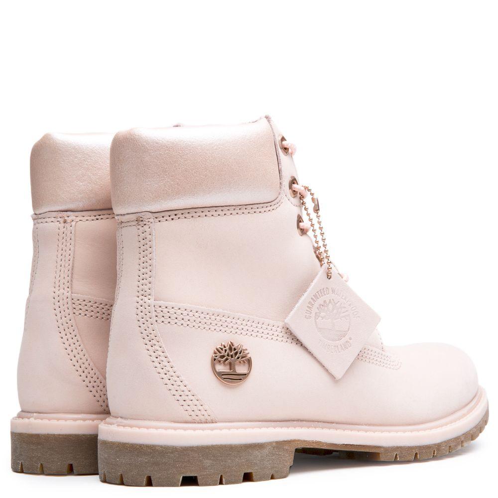 3d2cbde70ce Women's 6 Inch Premium Icon Boot LIGHT PINK NUBUCK