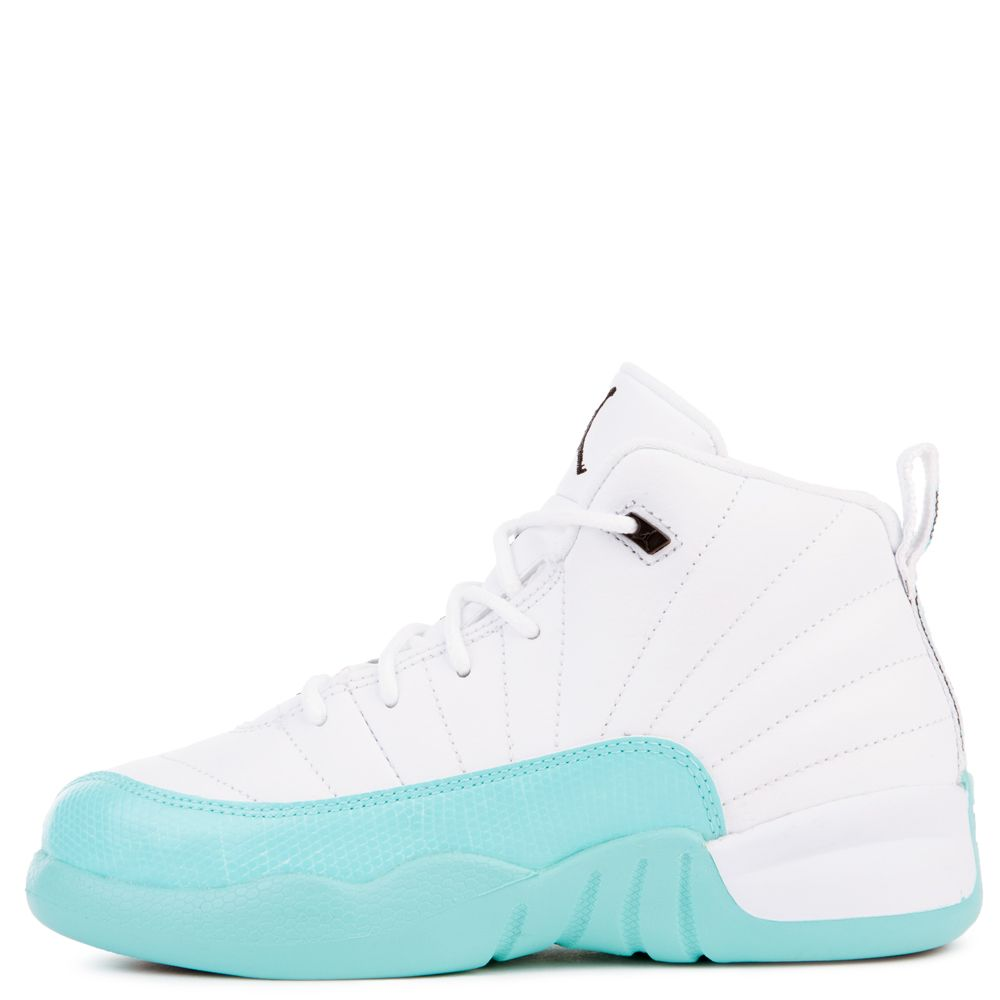 best website d1ede a9173 JORDAN 12 RETRO (GP) WHITE/BLACK-LIGHT AQUA