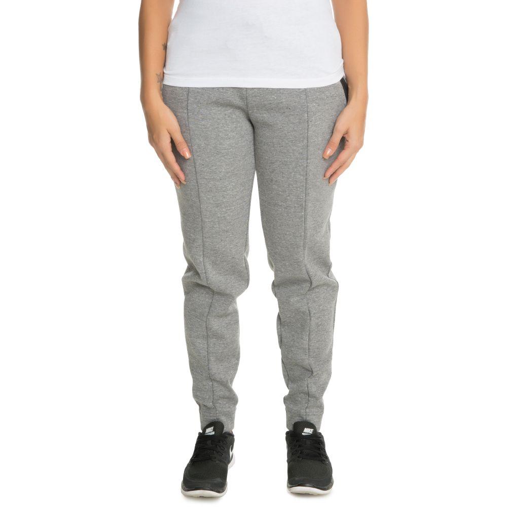 Women s Nike Sportswear Tech Fleece Pant Grey Black 665352b229