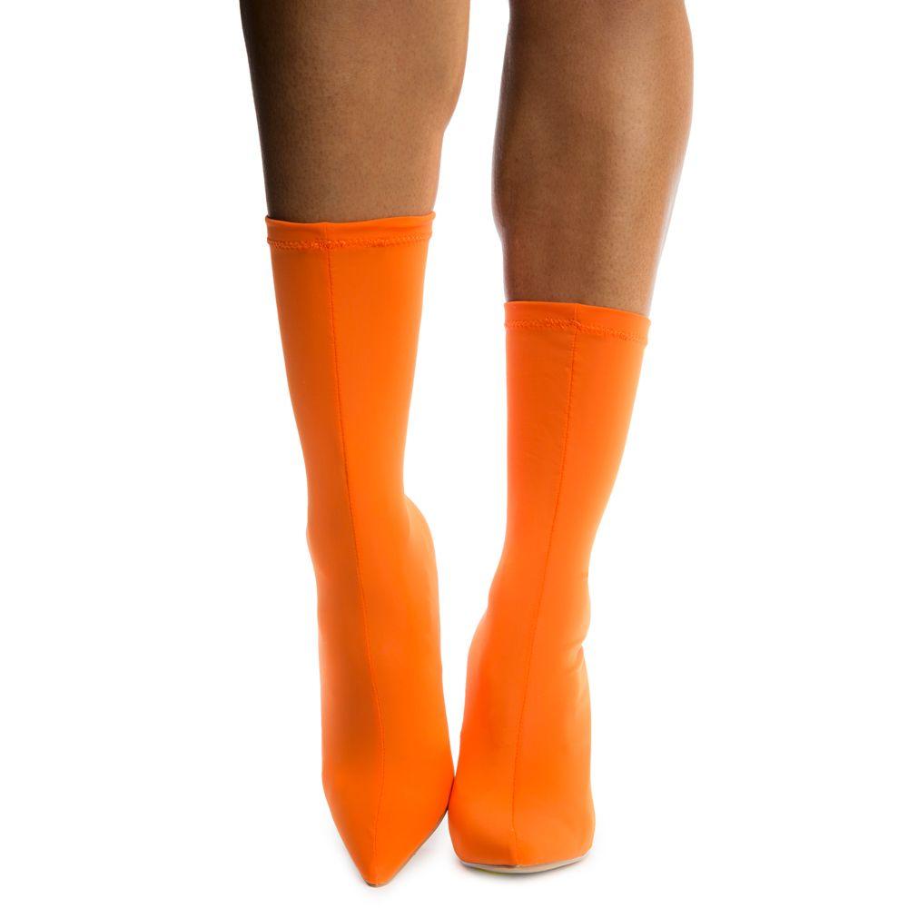 78fc7090b Women's Carreta Booties Orange