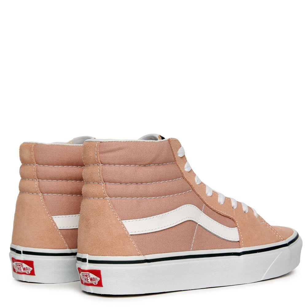 VANS SK8-HI MAHOGANY ROSE TRUE WHITE 0673f22e5