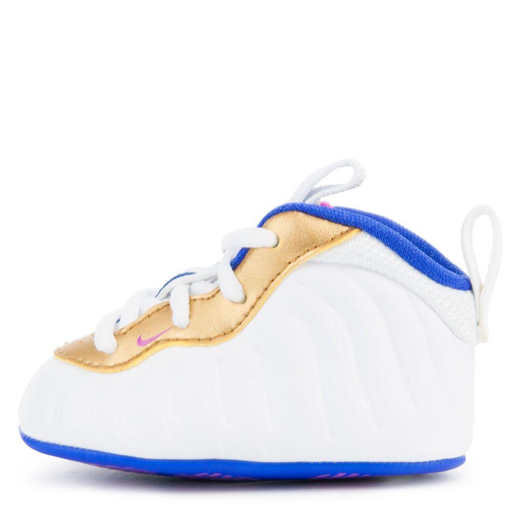 e4fbc5910d243a INFANT NIKE LIL  POSITE ONE WHITE FUCHSIA BLAST RACER BLUE