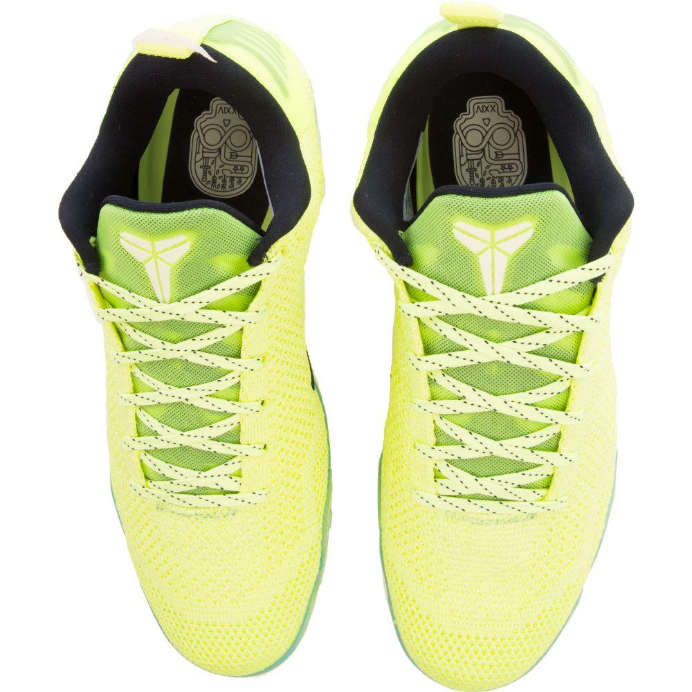 52bc4b72ed3 Kobe XI Elite Low 4KB Liquid Lime Black