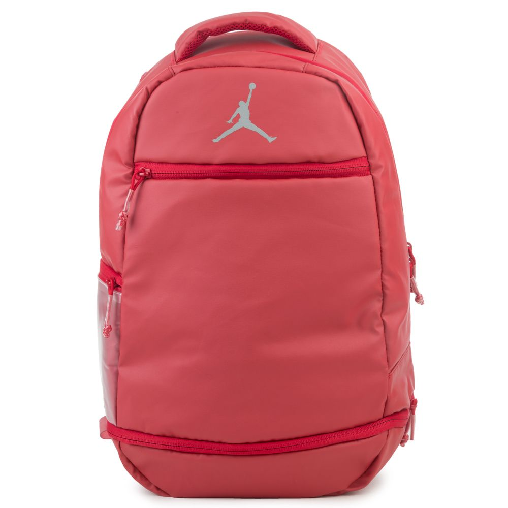 6c80d68f52c2 Red And White Jordan Retro Backpack- Fenix Toulouse Handball