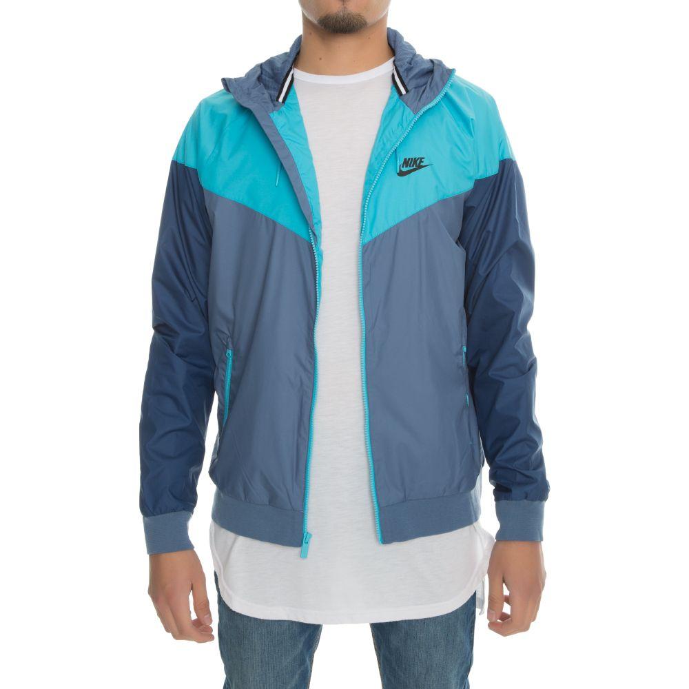 6d4d73b542 Nike Sportswear Windrunner Blue Navy Light Blue