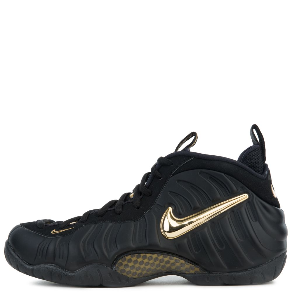 74a5fa620bd4a AIR FOAMPOSITE ONE BLACK METALLIC GOLD