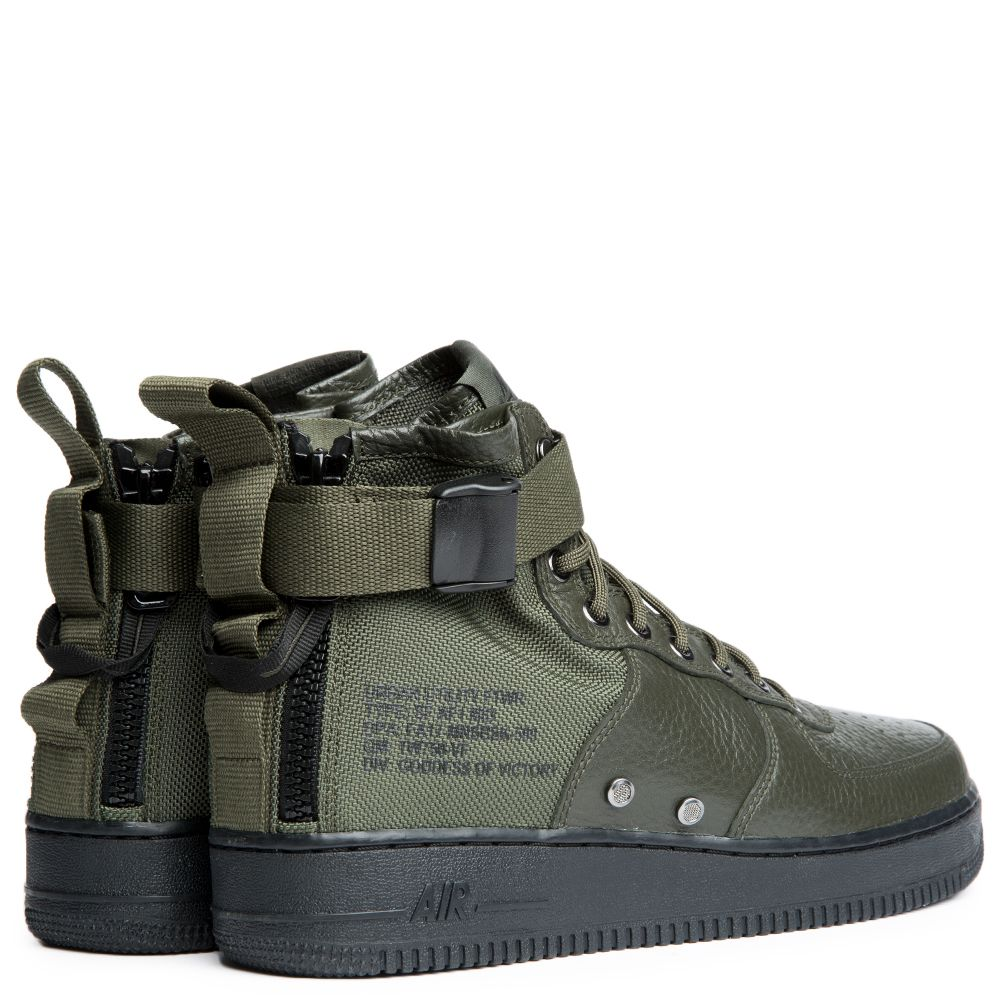 newest f94b6 bbffd Sf Air Force 1 Mid Shoe SEQUOIASEQUOIA-BLACK