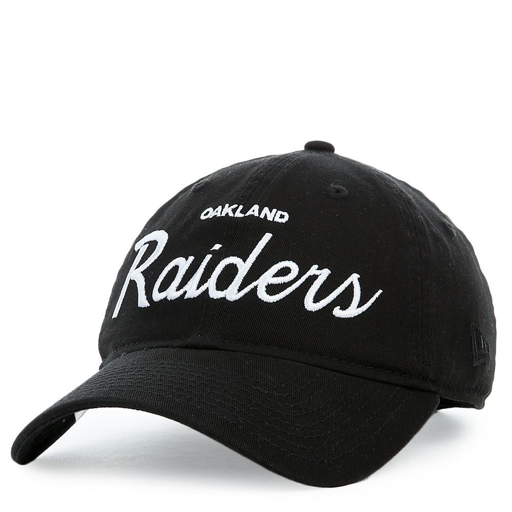 5d6f2e7f331 Oakland Raider Hat Black. New Era Bob Team 39thirty Oakland Raiders ...