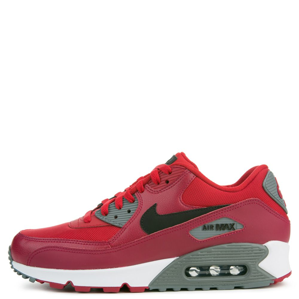 reputable site 107a9 56d6c ... uk air max 90 essential gym red black noble red cool grey 3d115 a055b