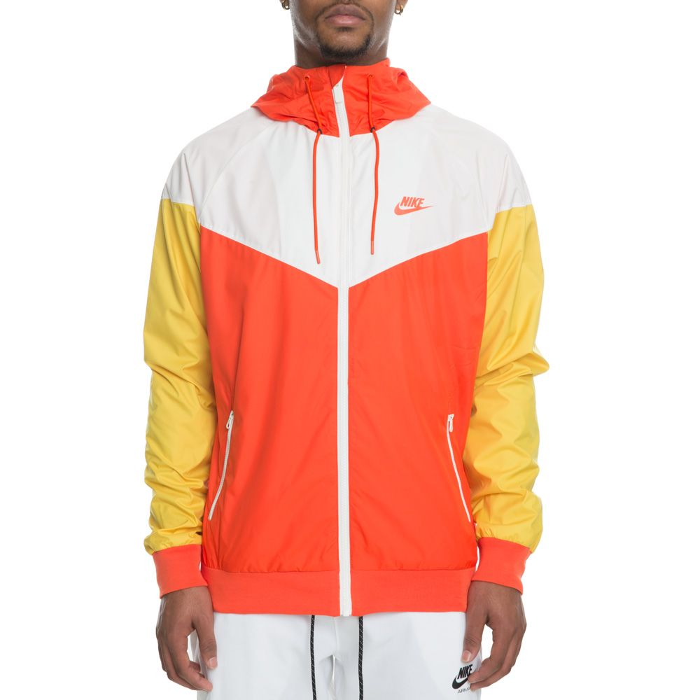 28e74b45f7 MEN S NIKE WINDRUNNER JACKET TEAM ORANGE SAIL
