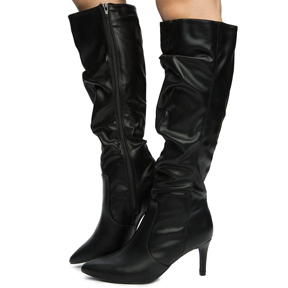 2bd6cfe5c3d Women s Longing-13s Knee High Boot BLACK
