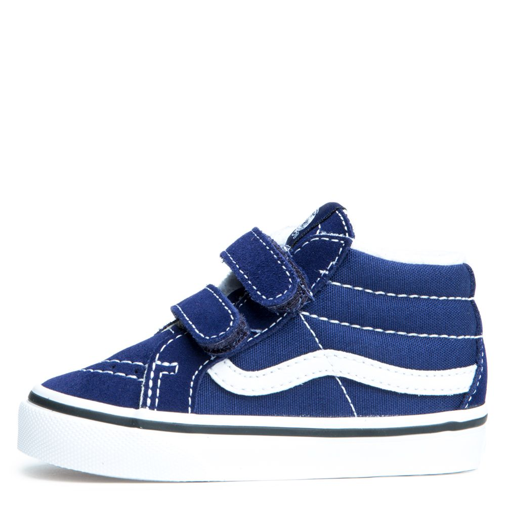 8da6f14d5b7e0d TODDLER VANS SK8-MID REISSUE PATRIOT BLUE TRUE WHITE - Kids shoes ...