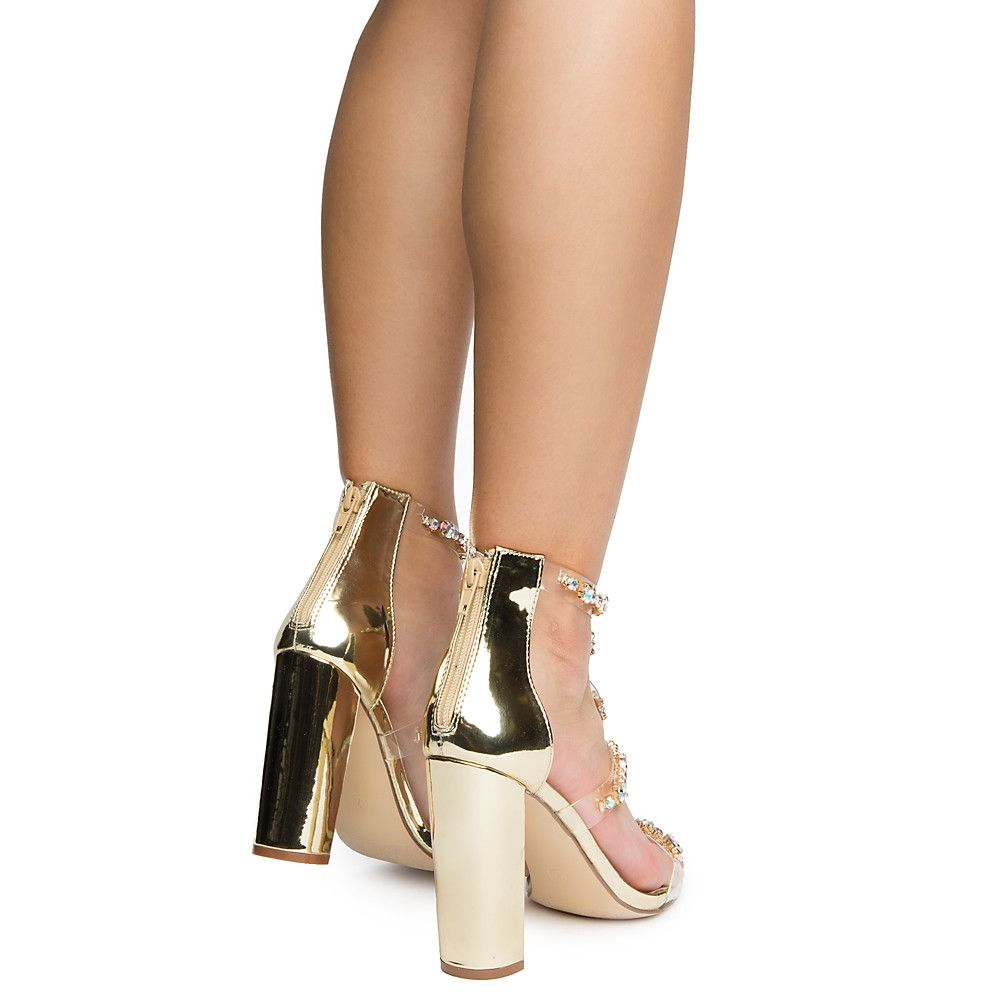 bb76d69d81a Women's Taylor High Heel Gold