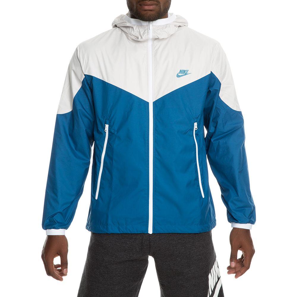 f36434d35c Sportswear Windrunner Jacket LIGHT BONE INDUSTRIAL BLUE
