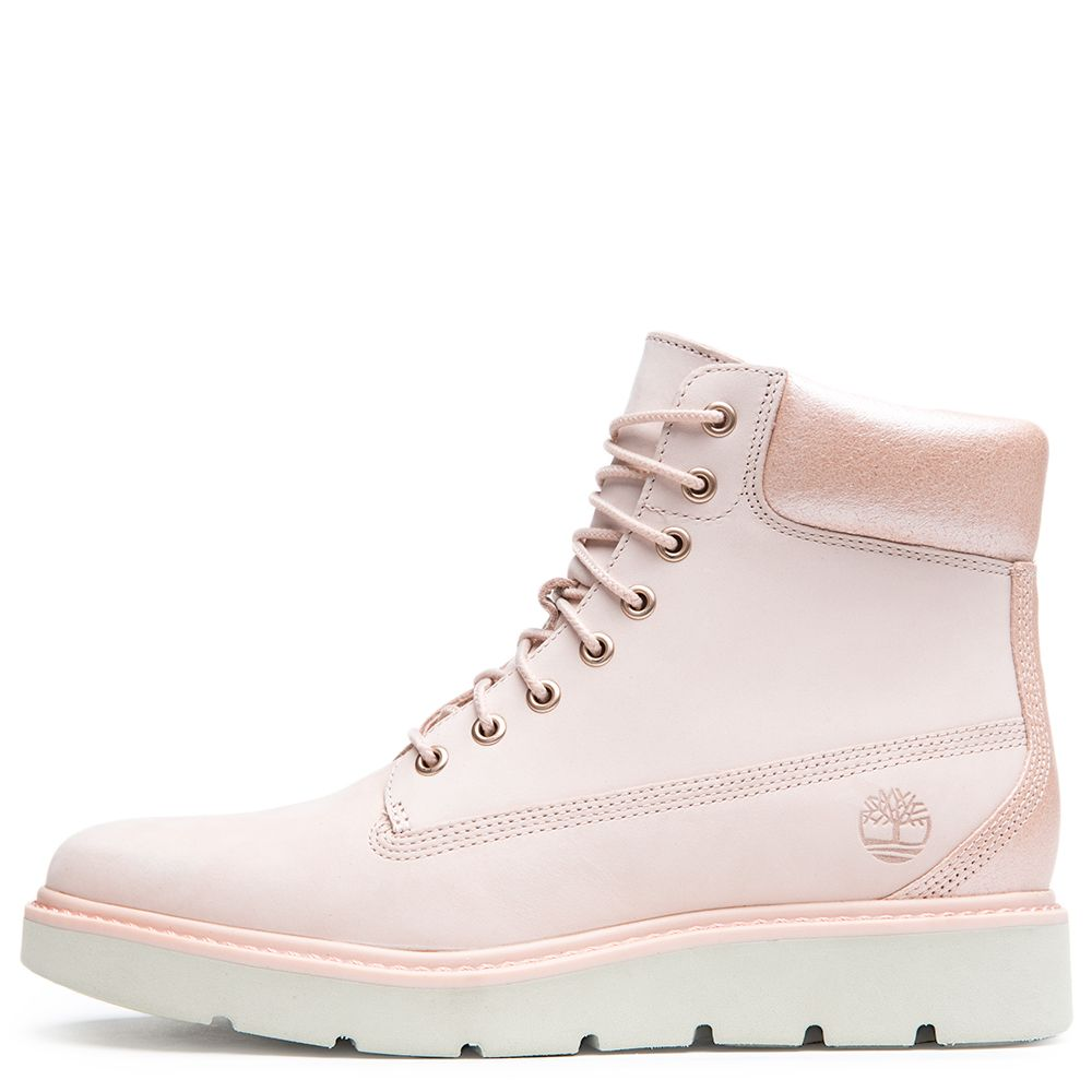 2793425224ca Women s Kenniston 6 Inch Lace-Up Boot LIGHT PINK NUBUCK