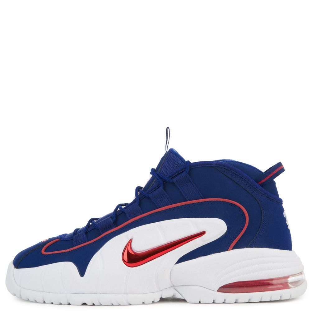 d33477e204d ... denmark mens nike air max penny deep royal blue gym red white 88882  9ffae