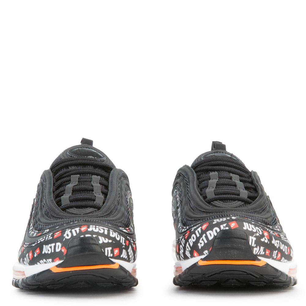 new products c7bac 7076c AIR MAX 97 BLACK BLACK-TOTAL ORANGE-WHITE