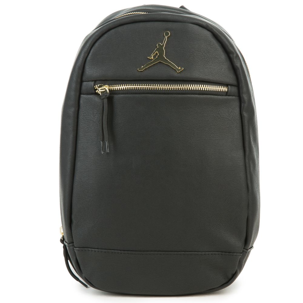 0a8455b7856c9b Jordan Skyline Mini Backpack BLK GLD