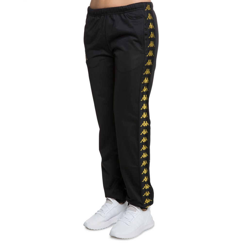 8ee2375d 222 BANDA RASTORIA TRACK PANTS BLACK-GOLD YELLOW