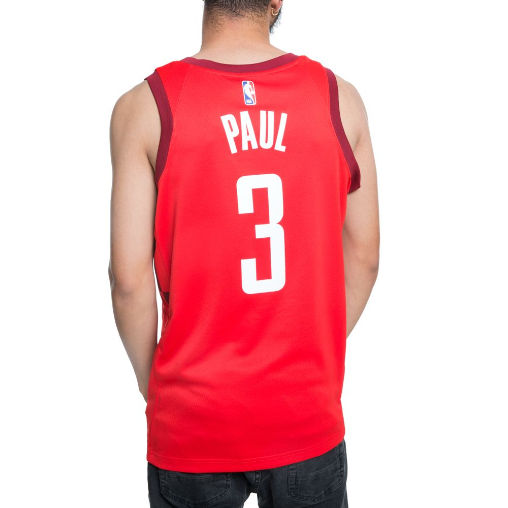 3260bfb14 ... HOUSTON ROCKETS NBA CONNECTED CHRIS PAUL CITY EDITION SWINGMAN JERSEY  UNIVERSITY RED TEAM RED