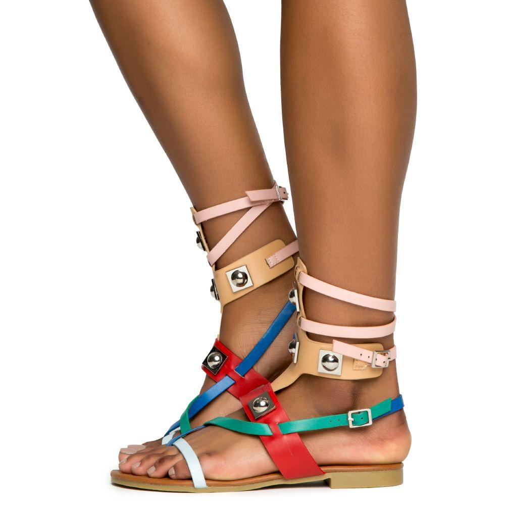 a643897c54d Cape Robbin Emily-63 Women s Multi Colored Sandals Multi