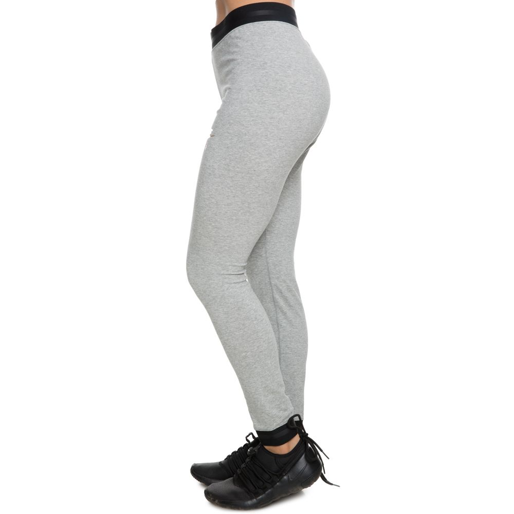 new style 38fe4 8cda8 WOMEN S NIKE SPORTSWEAR AIR LEGGINGS DK GREY HEATHER BLACK