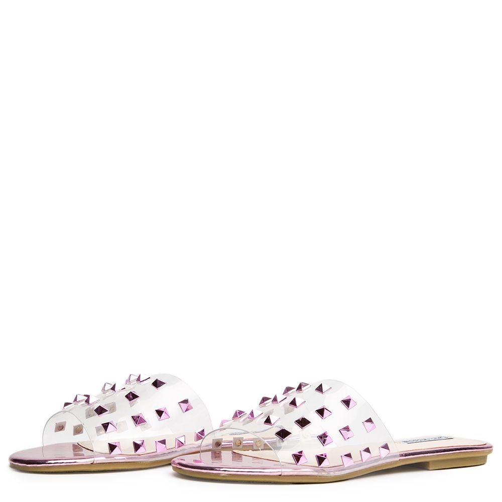 32307861e Cape Robbin Sadie-1 Pink Women s Slides Pink