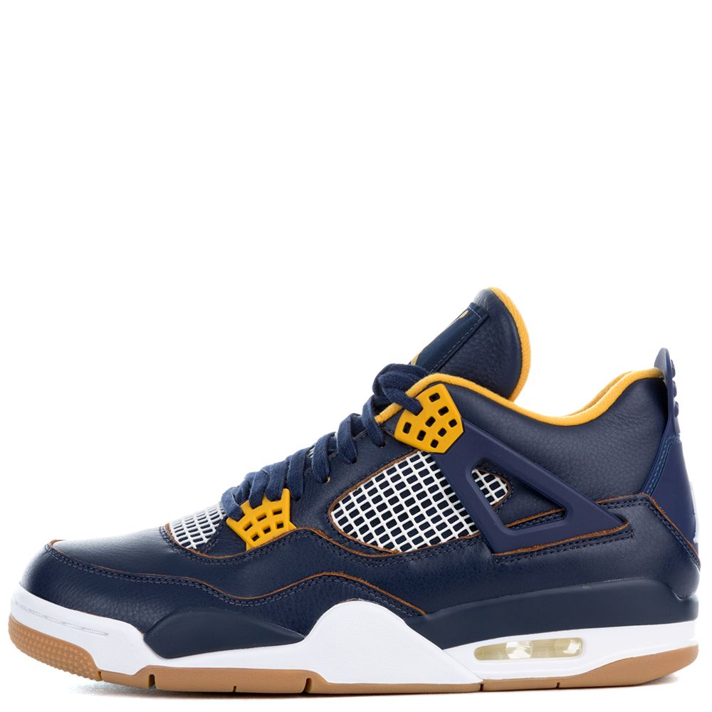 490062a44ac air jordan 4 retro midnight navy gold leaf white metallic gold