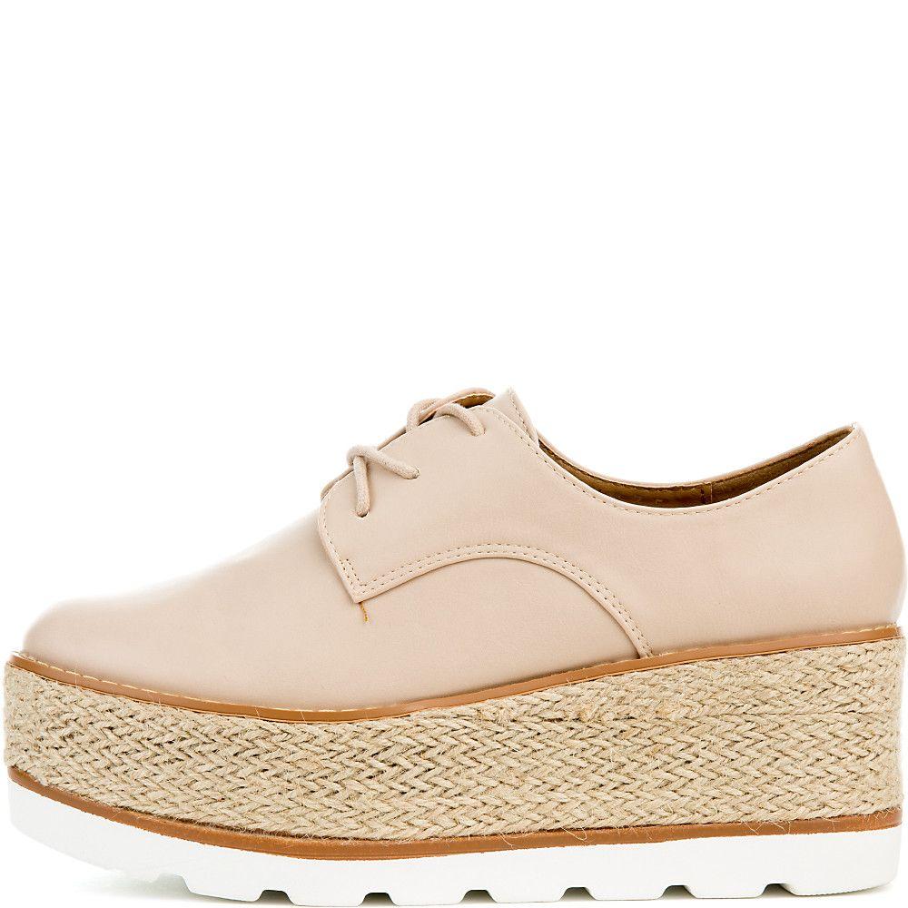 3c373ffad5a Women s Shena 10A Platform Shoes nude pu