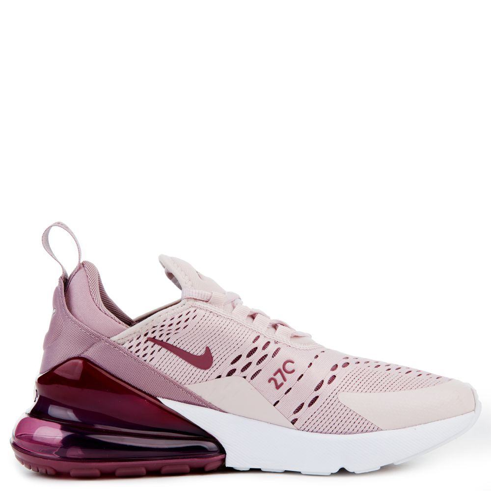 in stock 25afc 2a7a5 WOMEN S NIKE AIR MAX 270 BARELY ROSE VINTAGE WINE ELEMENTAL ROSE