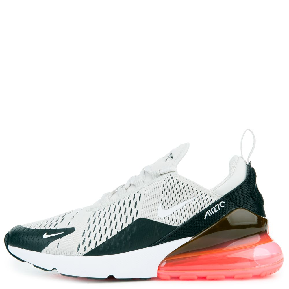 5778ad19467 MEN S NIKE AIR MAX 270 BLACK LIGHT BONE HOT PUNCH WHITE
