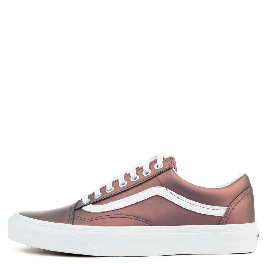 07f6fcb821 WOMEN S VANS OLD SKOOL MUTED METALLIC RED GOLD