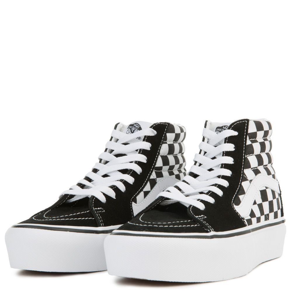 d902298ad3 ... WOMEN S VANS UA SK8-HI PLATFORM 2.0 (CHECKERBOARD) TRUE WHITE ...