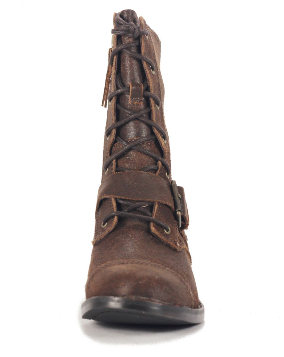 a1d87c8f34d UGG Australia for Women: Marela Dark Chestnut Lace Up Boot Chestnut
