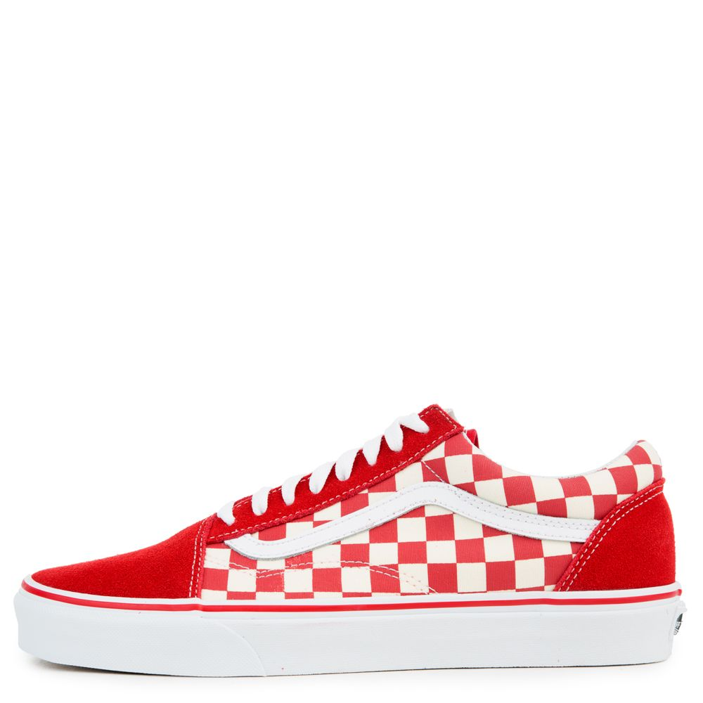 fd0262689f946a OLD SKOOL RACING RED WHITE - Shoes - Men