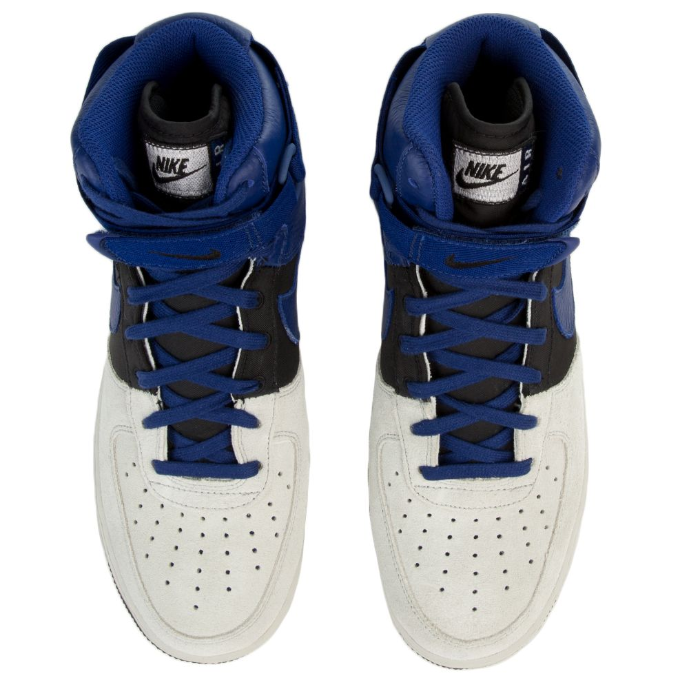 cdd70b2c7ff Air Force 1 High  07 LV8 PURE PLATINUM DEEP ROYAL BLUE-BLACK