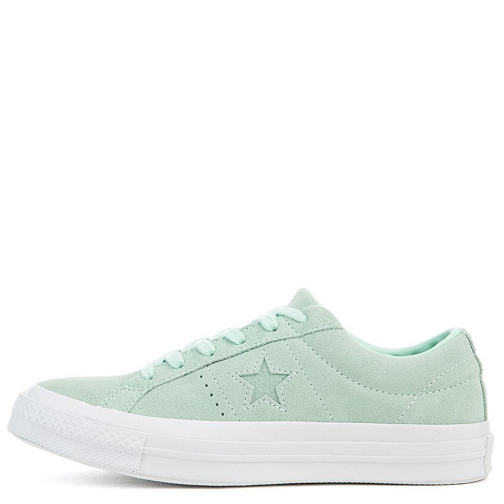 f405b0c9cbd Women s One Star Suede Ox Sneaker mint foam mint foam white