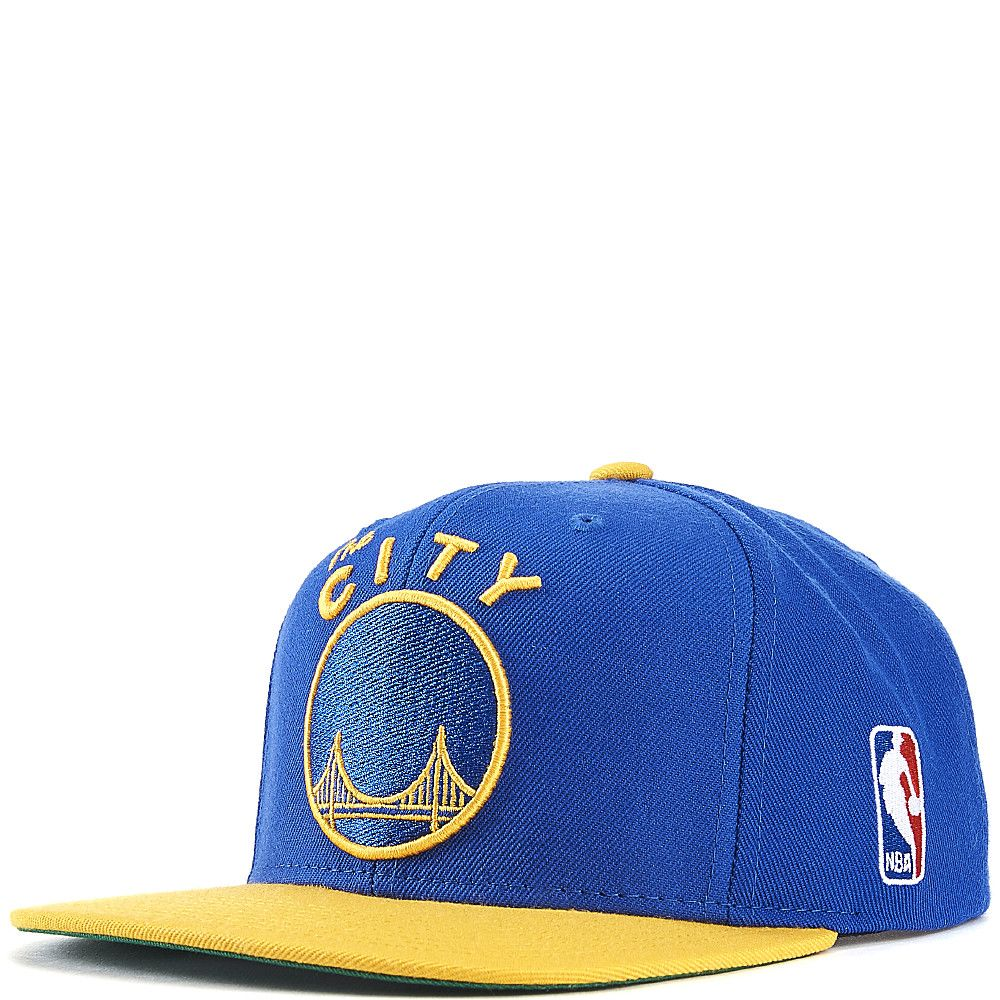 Golden State Warriors Snapback Blue Yellow 5c3adaca814e