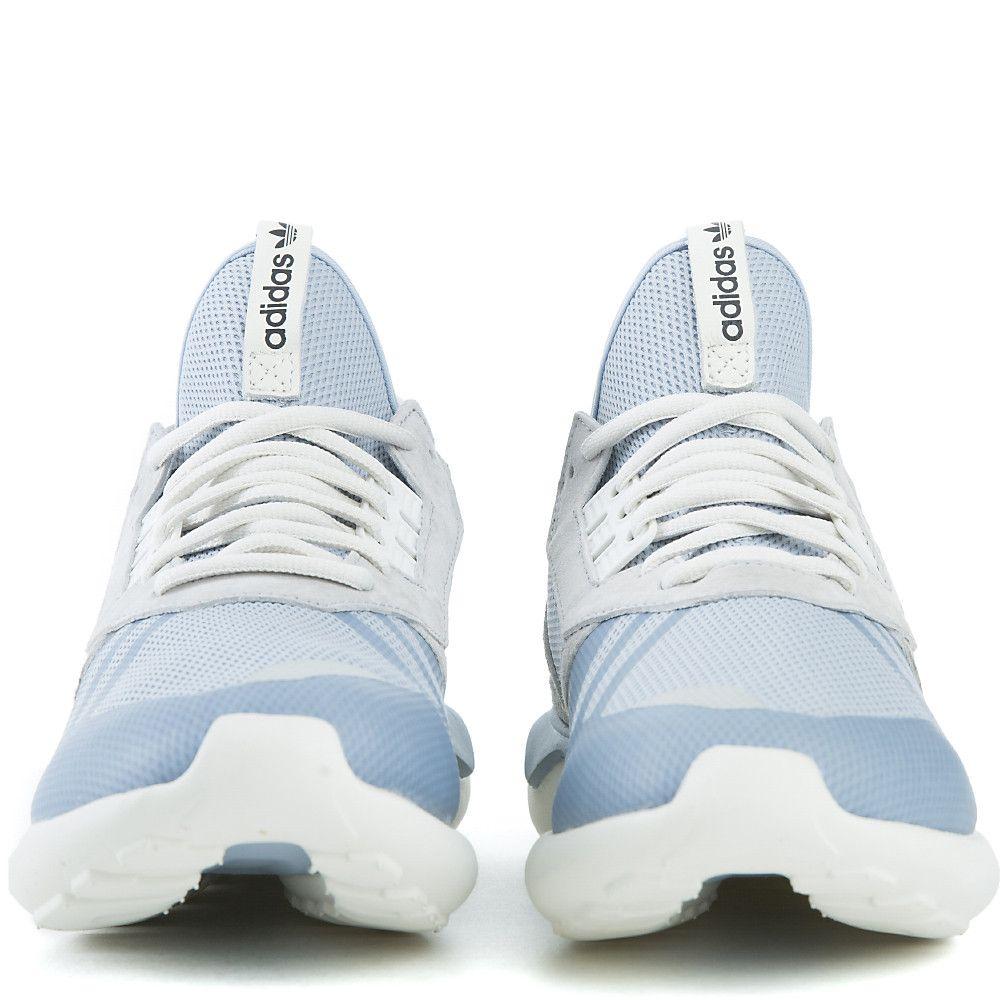 big sale f8e67 bee5a Men s Tubular Runner Athletic Running Sneaker Light Blue Grey
