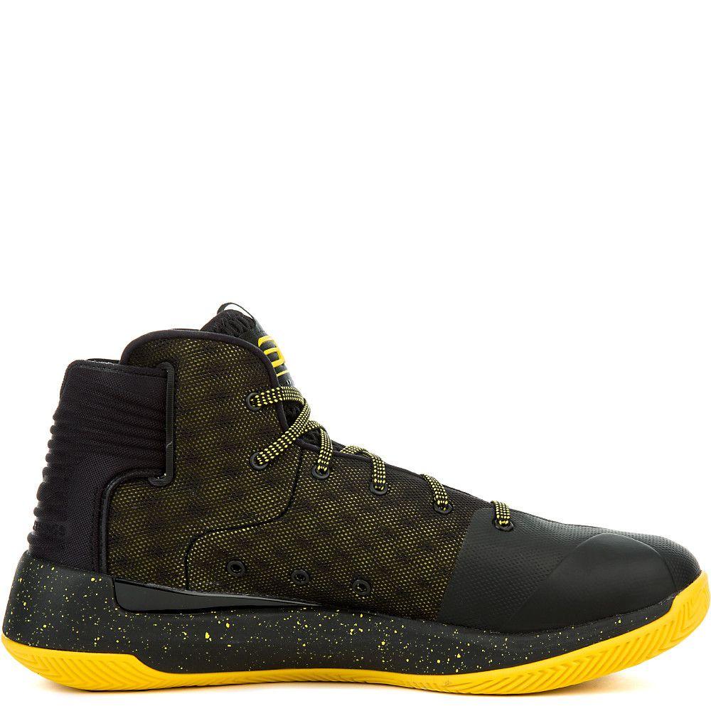75827bbcd887 Mens Curry 3Zero Sneaker BLACK TAXI