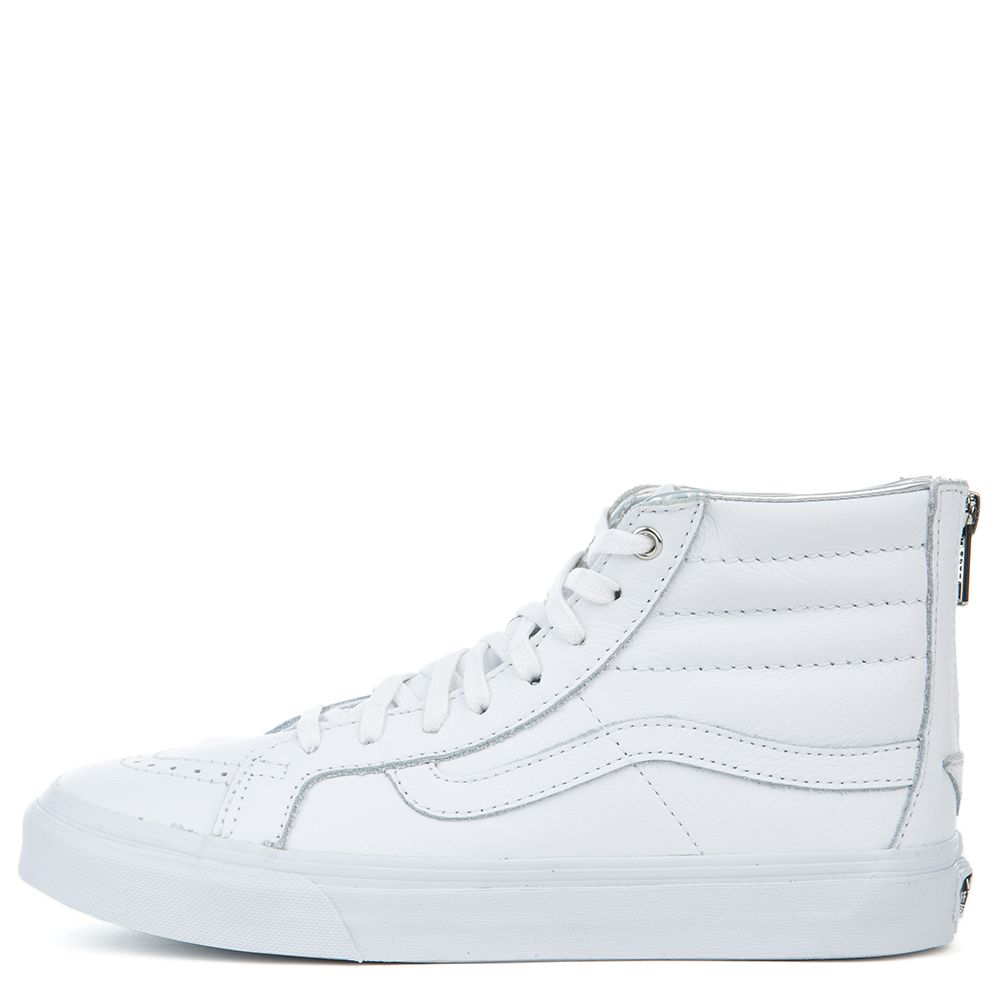37dcc7244a SK8-HI SLIM ZIP (HOLOGRAM) TRUE WHITE TRUE WHITE