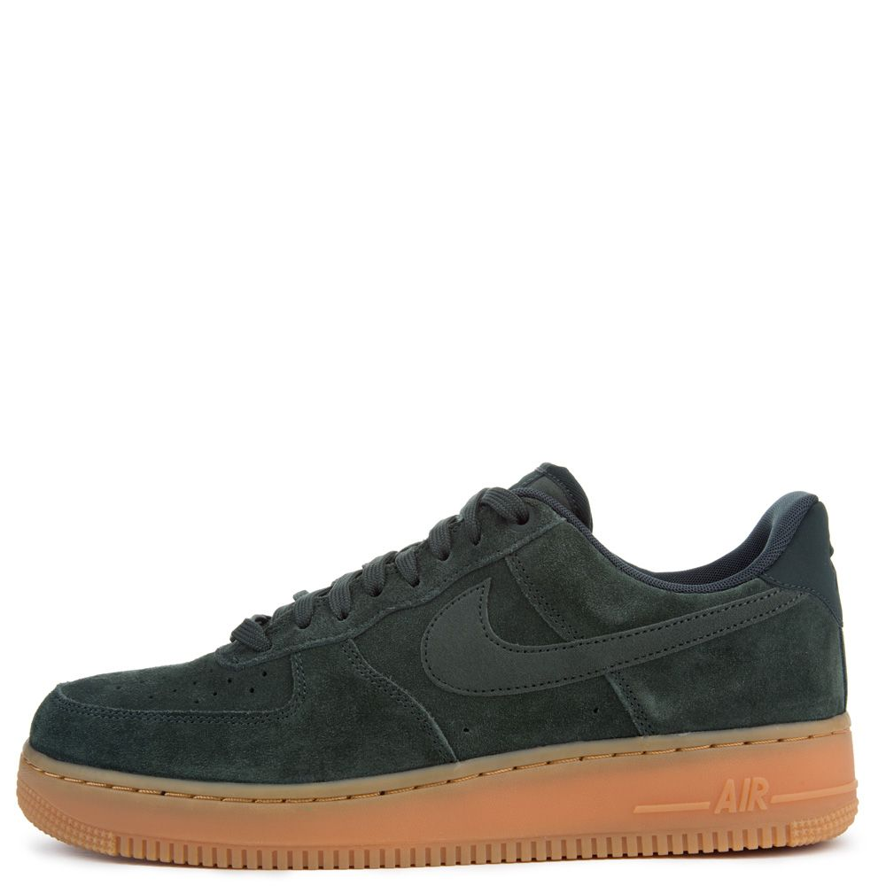 Mens and WMNS Nike Air Force 1 '07 LV8 Suede Outdoor Green