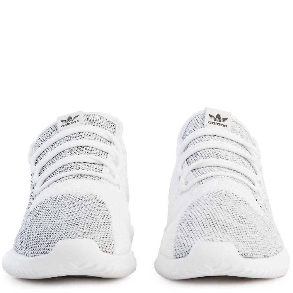 sale retailer dda6d c32c8 Men s Tubular Shadow Knit Athletic Lifestyle Sneaker Grey White