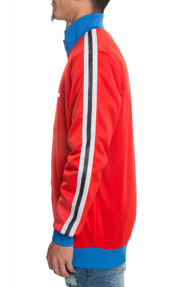 ... The Melrose Track Jacket in Red Red ...