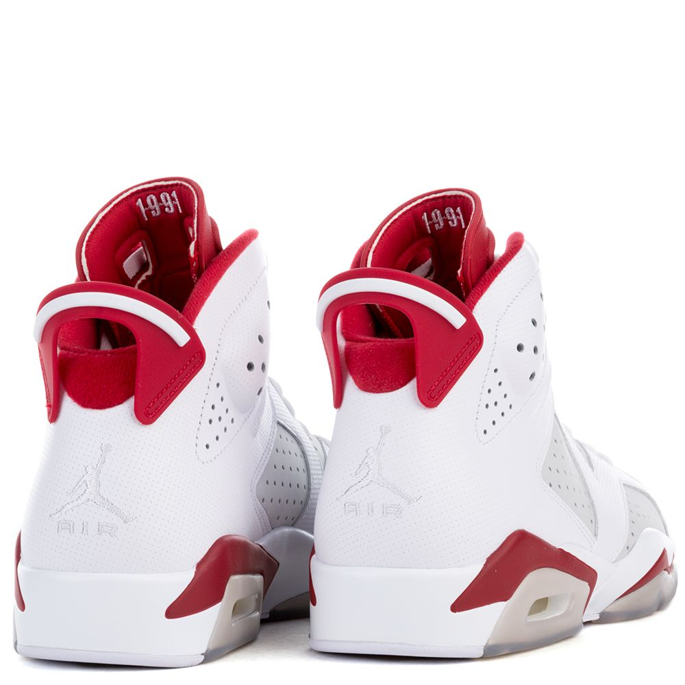 uk availability f16ca f81bc good air jordan 6 red and white dbc07 4a113
