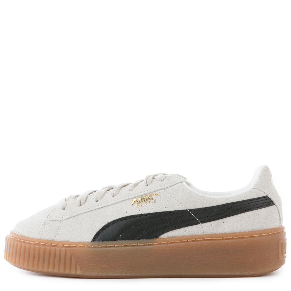 357f3d7654deb4 Women s Suede Platform Sneaker WHISPER WHITE GUM