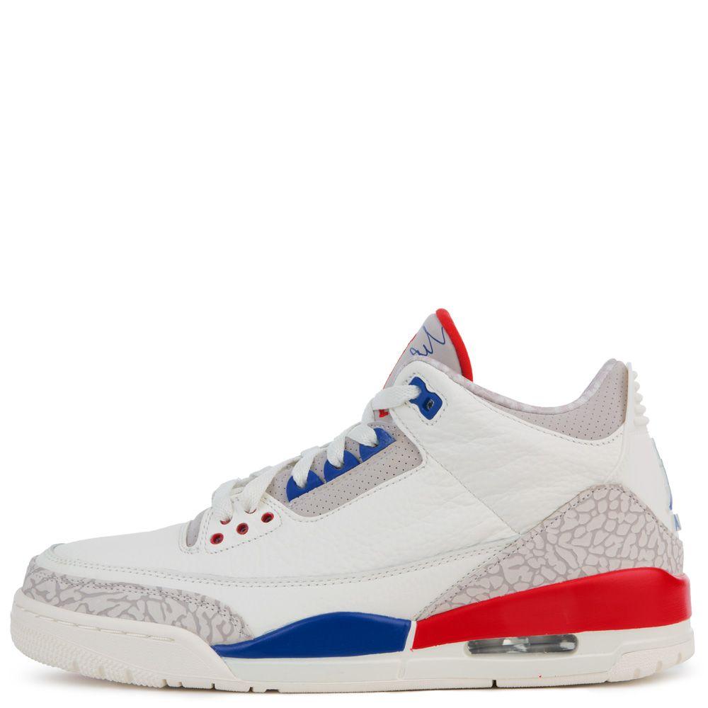 0bd854858ad330 ... white red shoes 9f9fc 15110  sweden mens air jordan 3 retro sail sport  royal light bone fire red a6001 98c29