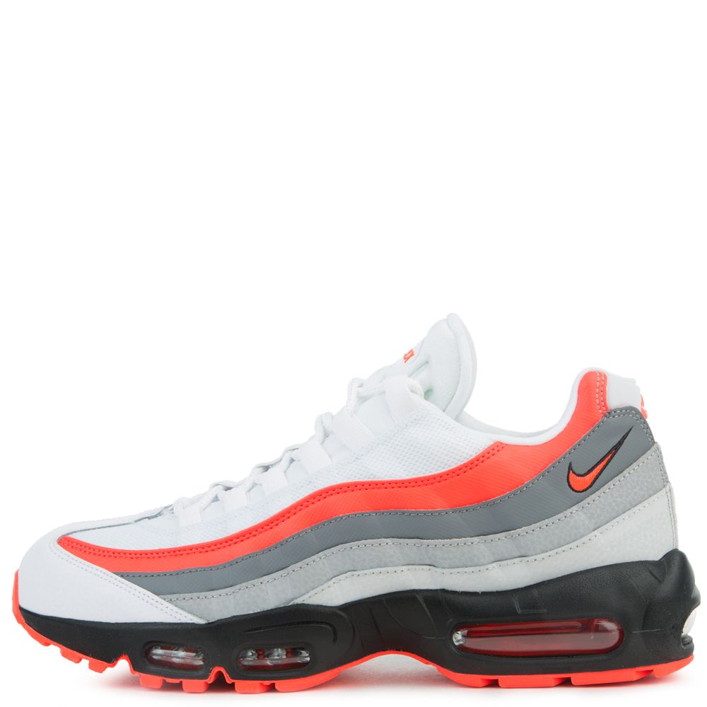 480b05053a Air Max 95 Essential WHITE/BRIGHT CRIMSON-BLACK-PURE PLATINUM