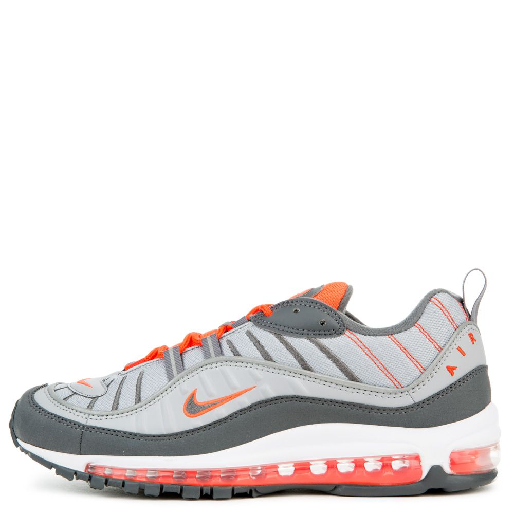 c692d152d5 MEN'S NIKE AIR MAX 98 WOLF GREY/DARK GREY/TOTAL CRIMSON