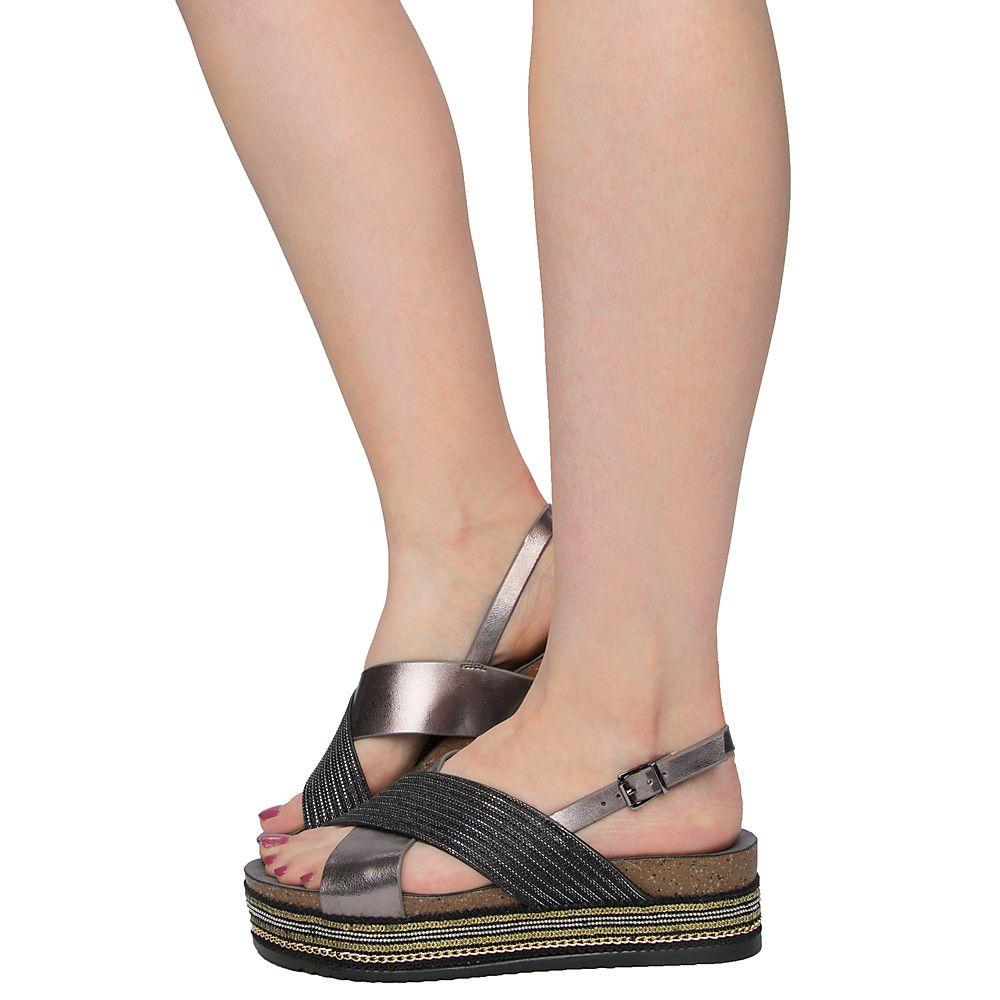 0df15013f Women's Ernie-03 Platform Sandals BLACK